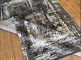 Современный серый ковер из шелка для современных интерьеров хайтек и лофт, фото 9