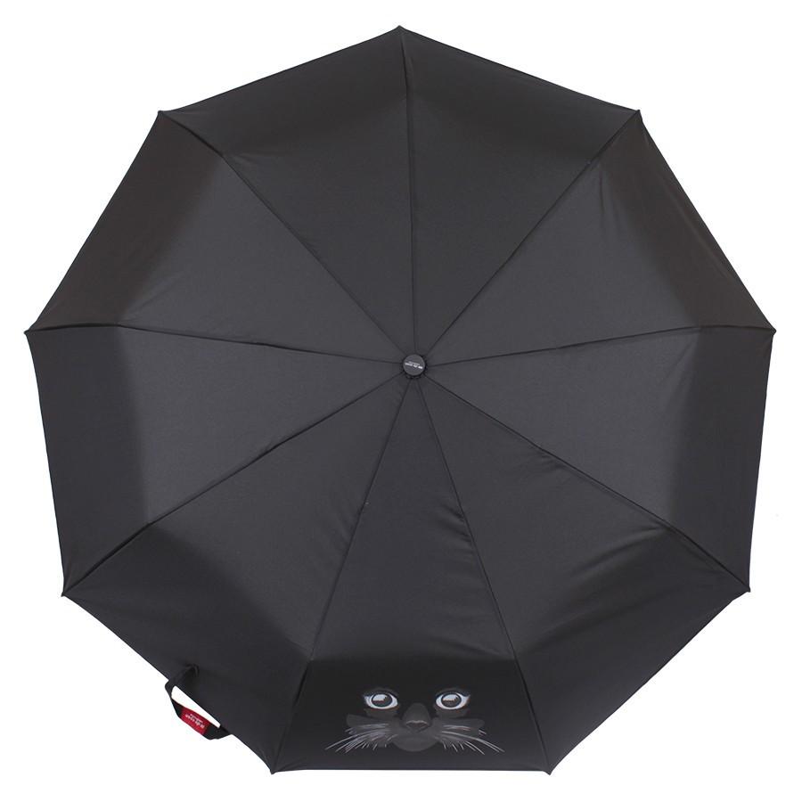 Зонт складной de esse автомат Кот
