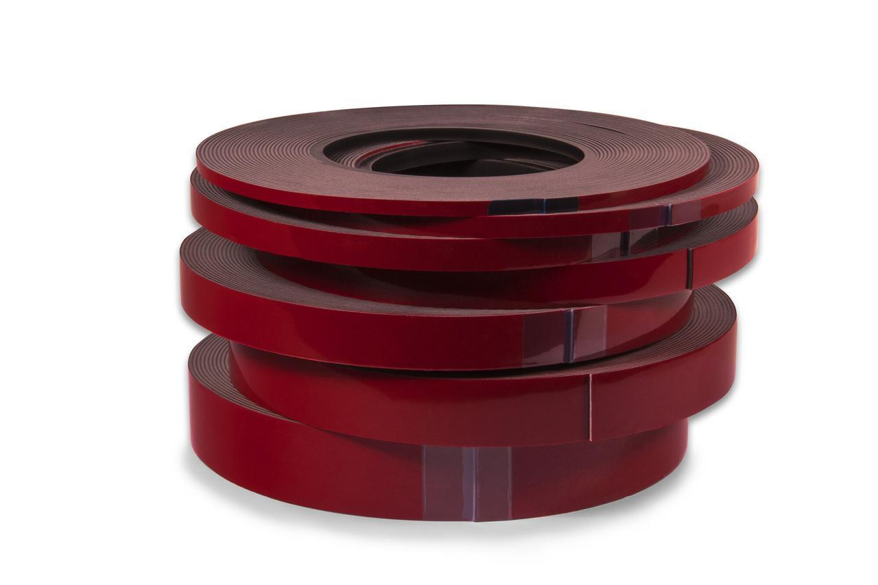 Двусторонний монтажный скотч - Finixa Double sided tape 19мм.х10м. красный (DZB 19)