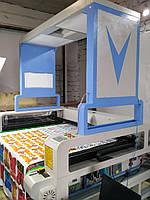 Оборудование для раскроя тканей. Лазерный станок для раскроя ткани в Украине