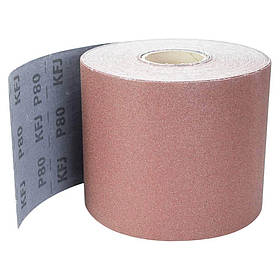 Шлифовальная шкурка тканевая рулон 200мм×50м P80 SIGMA  КОД: 9112651