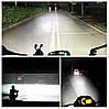 Світлодіодна фара з лінзою для мотоциклів і автомобілів ( 12 LED, 12V, 18 Вт, 6500K ), фото 6