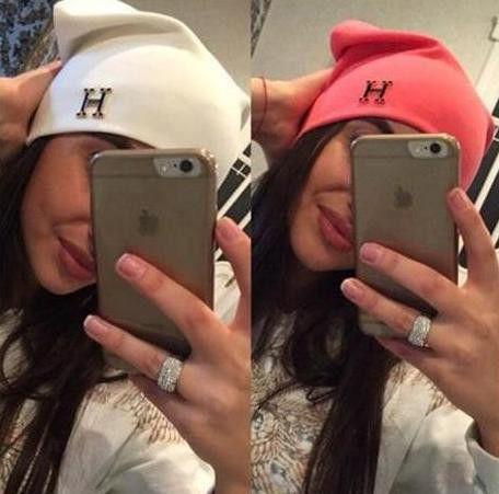 Женская шапка HERMES модная стильная