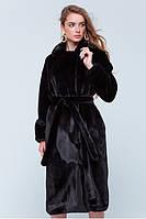"""Шуба меховая, """"ЭМИЛИЯ"""", теплая куртка на зиму, эко мех, утепленное пальто, длинная шуба."""