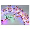 Гирлянда конский хвост 15 нитей 300 led с пультом от сети (разноцветный), фото 5