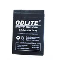 Аккумулятор батарея GDLITE 6V 4.0Ah, фото 1