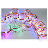 Гирлянда конский хвост 30 нитей 600 led с пультом от сети (разноцветный), фото 4