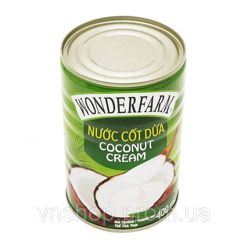 Wonderfarm кокосовый крем 400 ml
