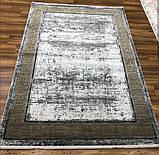 Красивий багатий килим в стилі модерн з візерунком версаче під золото, фото 6