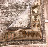 Красивий багатий килим в стилі модерн з візерунком версаче під золото, фото 9