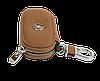 Ключница OPEL, кожаная автоключница с логотипом  ОПЕЛЬ (коричневая 18001), фото 3