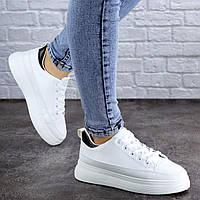 Женские белые кроссовки Felix 2095