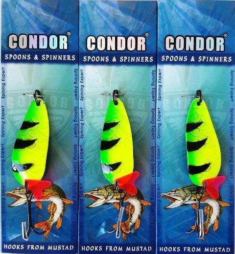 Блесна кол, Condor (Кондор), цвет 80, 15гр