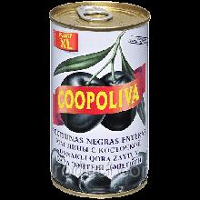 Маслины COOPOLIVA (Испания) с косточкой 370г ж/б