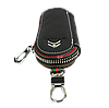 Ключниця CITROEN, шкіряна автоключница з логотипом СІТРОЕН (чорна 17005), фото 6