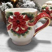 Кружка керамічна Merry Christmas 0,5 л