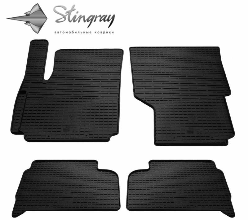 Резиновые коврики в автомобиль Volkswagen Amarok 2009- (Stingray)