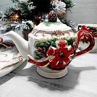 Заварювальний чайник Merry Christmas 800 мл
