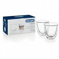 Набір склянок DeLonghi Cappuccino 190 мл (2 шт.)