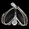 Ключница HONDA, кожаная автоключница с логотипом  ХОНДА (черная 08007), фото 2