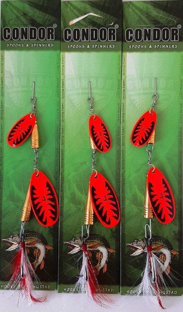 Блешня вращ. подвійна Condor, цвет197, 14гр