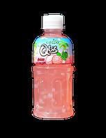Напиток COZZO со вкусом личи и кусочками кокосового желе 320 мл