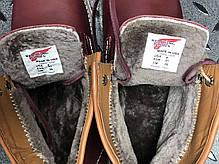 "Зимние ботинки на меху Red Wing ""Бордовые"", фото 3"