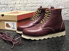 "Зимние ботинки на меху Red Wing ""Бордовые"", фото 2"