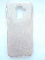 Чохол накладка Shine для Samsung A6 Plus рожевий