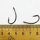 Карповый поводок под бойл (волос) на карпа и амура ,  крючки «Fudo Carp Hook» № 4 формы Банан, фото 3