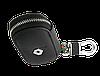 Ключница RENAULT, кожаная автоключница с логотипом  РЕНО (черная 20003), фото 5