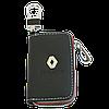 Ключница RENAULT, кожаная автоключница с логотипом  РЕНО (черная 20006), фото 6