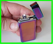 Электроимпульсная USB Зажигалка на 4 электрода (ВидеоОбзор)