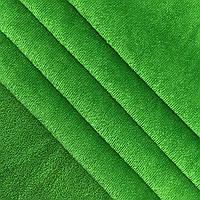 Махра велюровая ярко-зелёная Турция