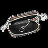 Ключница SKODA, кожаная автоключница с логотипом  ШКОДА (черная 22006), фото 2