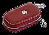 Ключница SUZUKI, кожаная автоключница с логотипом  СУЗУКИ (красная 24015), фото 3