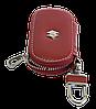 Ключница SUZUKI, кожаная автоключница с логотипом  СУЗУКИ (красная 24015), фото 4