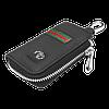Ключница TOYOTA, кожаная автоключница с логотипом  ТОЙОТА (многофункциональная черная 07012), фото 4