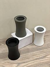 Чёрный светильник со сменной лампочкой, фото 2