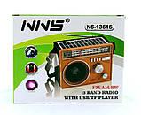 Радио на Солнечной Батарее с Мр3 Колонка - 1361 (USB/MicroSD), фото 8