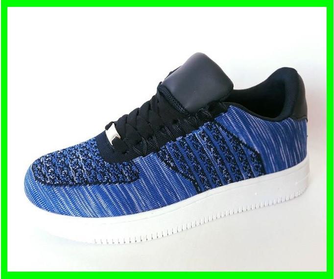 Кроссовки Wonex - 81 NAVI Синие Мокасины  (размеры: 37)