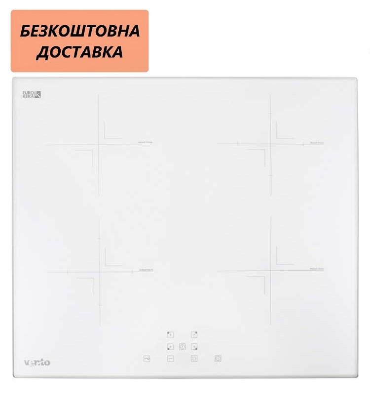 Варочная поверхность встраиваемая Ventolux VI 64 TC WH Индукционная, Белая