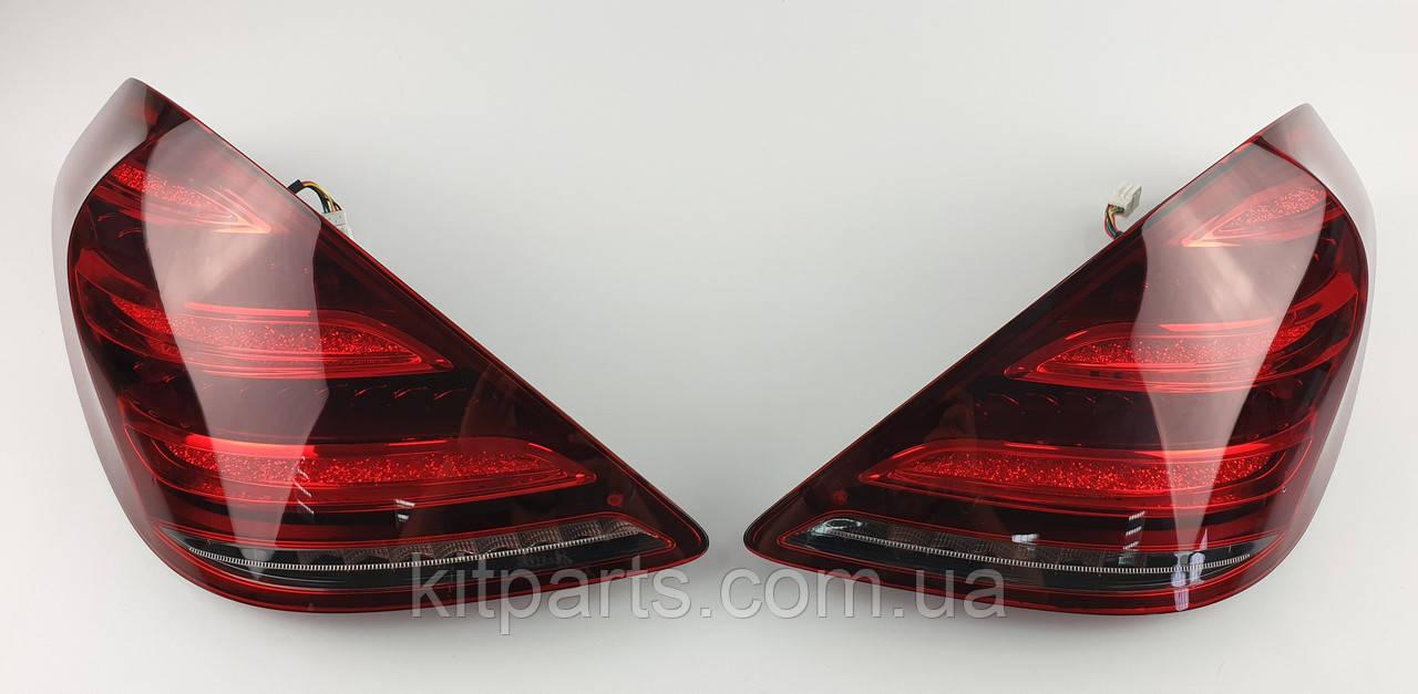 Задние фонари стопы оптика на Mercedes-Benz S-Class W222 2013+