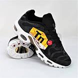 Кроссовки Мужские N!ke Tn Air Max Plus OG Чёрные Найк (размеры: 42) Видео Обзор, фото 2