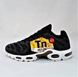 Кроссовки Мужские N!ke Tn Air Max Plus OG Чёрные Найк (размеры: 42) Видео Обзор, фото 3