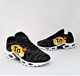 Кроссовки Мужские N!ke Tn Air Max Plus OG Чёрные Найк (размеры: 42) Видео Обзор, фото 9