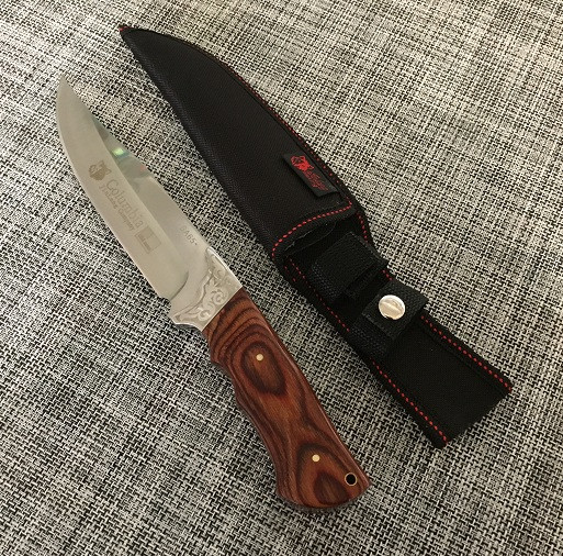 Мисливський ніж з чохлом 28см Columbia SA65/Н-360А
