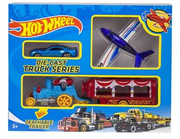 Машина Hot Wheel DIE CAST TRUCK голубое авто YG Toys T-R115-E1