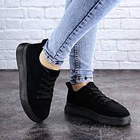 Женские черные кроссовки Felix 2069
