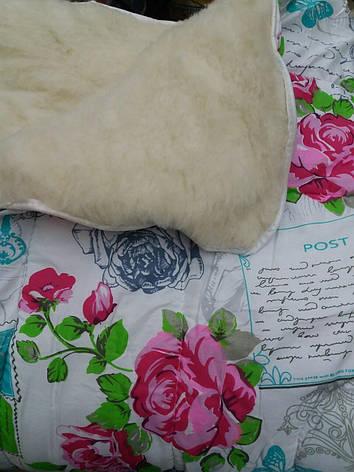 Зимнее одеяло полуторное с открытым мехом, фото 2